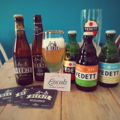 Het aanbod aan speciaalbieren bij Locals Tilburg
