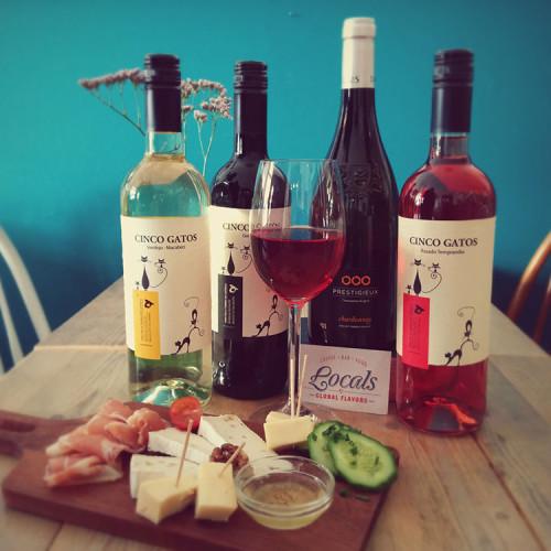 Het aanbod aan wijnen van Locals Tilburg
